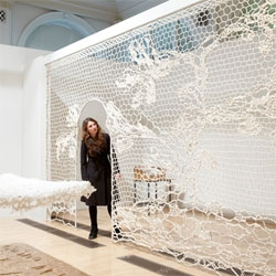 'Lost in Lace' at the Birmingham Museum and Art Gallery, beautiful collaboration with the Crafts Council and University for the Creative Arts.