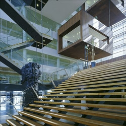 The stunning Nykredit bank headquarters in Copenhagen by Schmidt Hammer Lassen Architecture.
