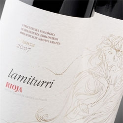 Lamiturri wine labels capture the mythical Lamias. Design by Calcco.