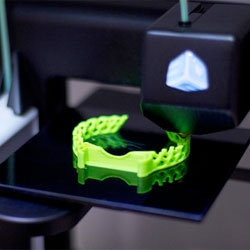 The CUBIFY 3D Printer, expected to go on sale sometime over the next few months.