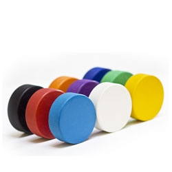 Modknobs, a quick and easy to modernize and brighten up your doors.