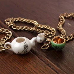 Bethan Lloyd Worthington creates charm bracelets for all those who loved mini tea parties.
