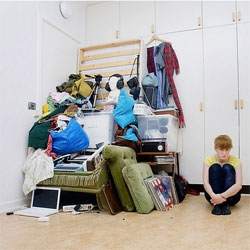 Sannah Kvist captures European hipsters with all of their worldly possessions in her series titled 'All I Own'.