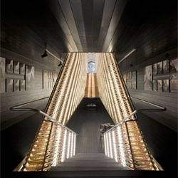 Stunning Matadero Film Library in Madrid by CH+QS Arquitectos.