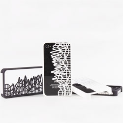 SoundCloud 3-D-Printing prints your favorite songs into custom iphone cases.