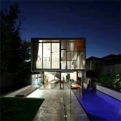 Gibbon Street House in Brisbane by Shaun Lockyer Architects.