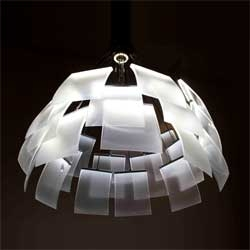 The Kronleuchter lamp by Denise M. Hachinger.