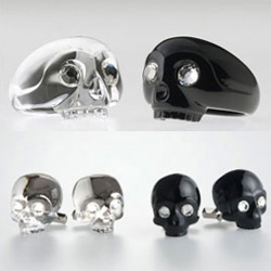 Hoya Crystal ~ Design Boom opened up my eyes to their incredible crystal animals in black cages, skull collection... which sent me exploring the rest of this beautiful Japanese line as well.