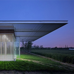 'Harvest Pavilion' by Vector Architects in Kunshan, China.