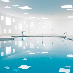 The Hotel Castell dels Hams Spa & Pool by A2arquitectos.