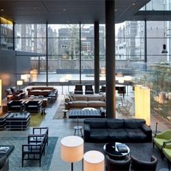 Amsterdam's Conservatorium Hotel by Piero Lissoni.