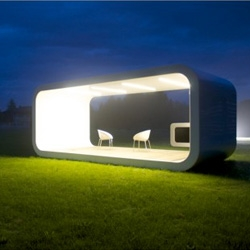 Beautiful prefab modules from Moodo.