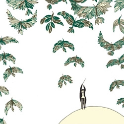 French illustrator and artist Laëtitia Devernay has been named the winner of this year's V&A Illustration Awards for The Conductor.