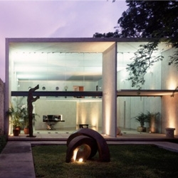 The beautiful studio of Studio of Muñoz Arquitectos in Mérida, Yucatan, Mexico.