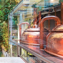 Fábrica Moritz, a renovated 19th century brewery in Barcelona by Jean Nouvel.