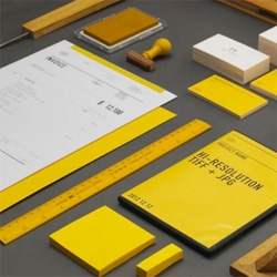 Pretty visual identity and stationery set for Acre.