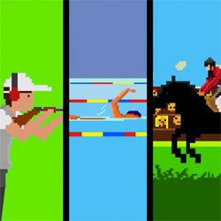 Flikli captures the Olympics in 8-bit with their 6-Bit Games!