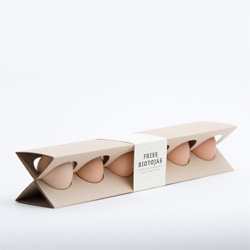 Otília Erdélyi's redesign of the humble egg box.
