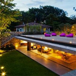 The V4 house' by Studio mk27 in Sao Paulo, Brazil.