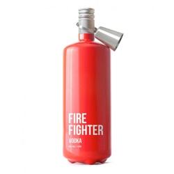 Firefighter Vodka, playful packaging design by Timur Salikhov.