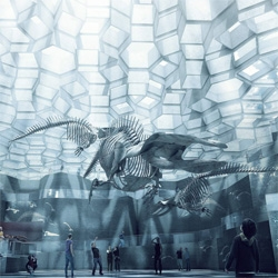 Gorgeous proposal for a new natural history museum in Denmark by BIG architects.