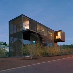 The Xeros Residence in Phoenix, Arizona from Blank Studio.