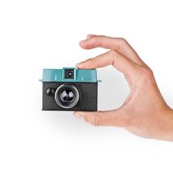 Lomography's latest tiny camera, the Diana Baby 110.