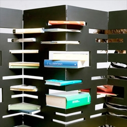 B-OK, a bookshelf/divider by Marica Vizzuso.