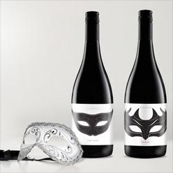 Grain Creative Pty Ltd's beautiful wine packaging for Wildfire Restaurant in Sydney.
