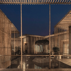 Bamboo Courtyard Teahouse by HWCD Associates.