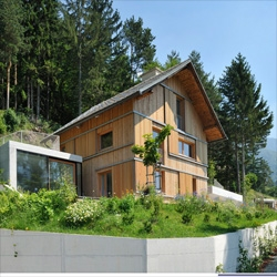 House HV by Kombinat turns a dreary chalet into a beautiful modern home.
