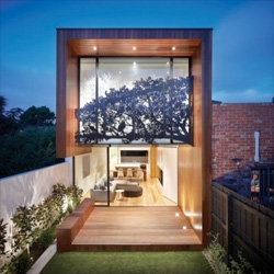 Nicholson Residence by Matt Gibson Architecture + Design in Melbourne, Australia.