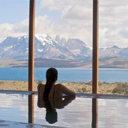 The Tierra Patagonia Hotel & Spa in Torres del Paine, Chile.