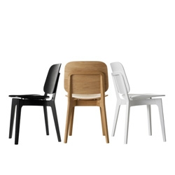 The Röhsska Chair by Claesson Koivisto Rune celebrates the centennial of the Swedish Design Museum and will debut at 100% Design in London.