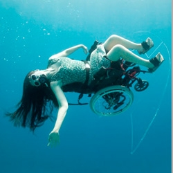 TC Mobility's Tank Chair takes wheelchair users to terrains they've never conquered before, like off road and even underwater.