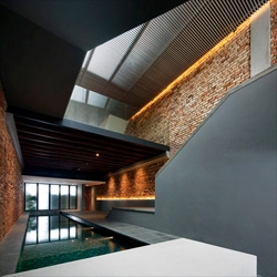 Beautifully converted 1920s shop house in Singapore from . FARM and KD Architects.
