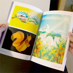 Lots of incredible illustration as we take a peek inside The Mighty Pencil Vol.2.