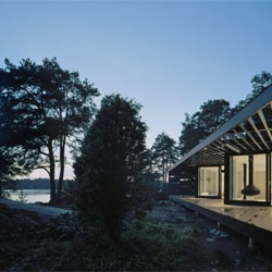 The Swedish Archipelago House by Tham & Videgård Arkitekter.