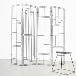 These steel screens by MICROmacro Lab almost remind me of chips!