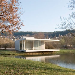 The beautiful Pavilion Siegen by Ian Shaw Architekten.