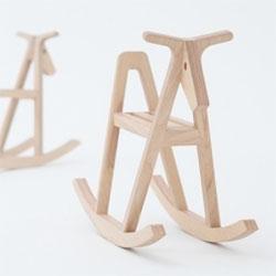 Paper-wood Horse by Drill Design (Yusuke Hayashi and Yoko Yasunishi).