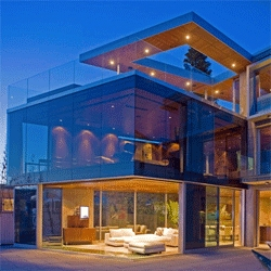 The beautiful Lemperle Residence, La Jolla, California by Jonathan Segal.