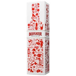 Beefeater London unveil new packaging for their holiday season pack.