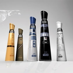 Star Wars by Evian, designed by Mandy Brencys.