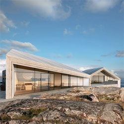 The stunning Villa Flåttarna by Wingårdh Arkitektontor takes full advantage of the stunning views.