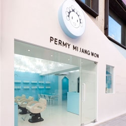 Permy Mi Jang Won salon in Suji-gu, Korea by M4 Interior Design Architecture.
