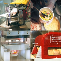 Did you know there is a Cup Noodle Factory and Museum in Osaka? And you can create your own custom flavored Cup Noodle! I am amazed by these videos of Cup Noodles made from scratch.