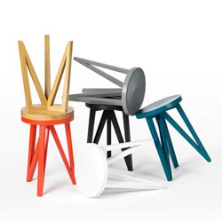 Fun collection from LOEHR. This is the JL 1 stool.