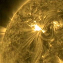 The most powerful solar storm in five years hit Earth today and it could create northern lights far South of their usual range!