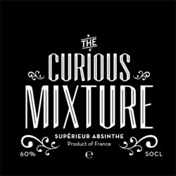 Curious Mixture Absinthe, packaging by Stig Bratvold.